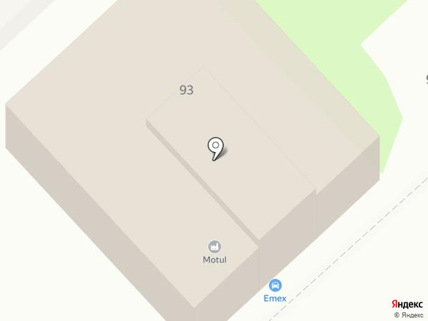 Emex на карте Волгограда