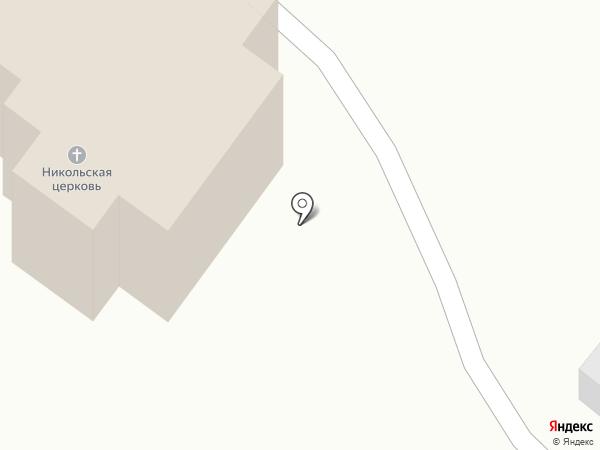 Приход храма Святителя Николая Чудотворца на карте Волгограда