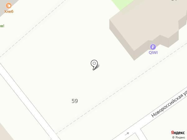 Киоск разливных напитков на карте Волгограда