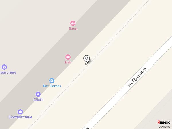 ВиСофт Волгоград на карте Волгограда