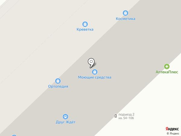 Стеклокомплект на карте Волгограда
