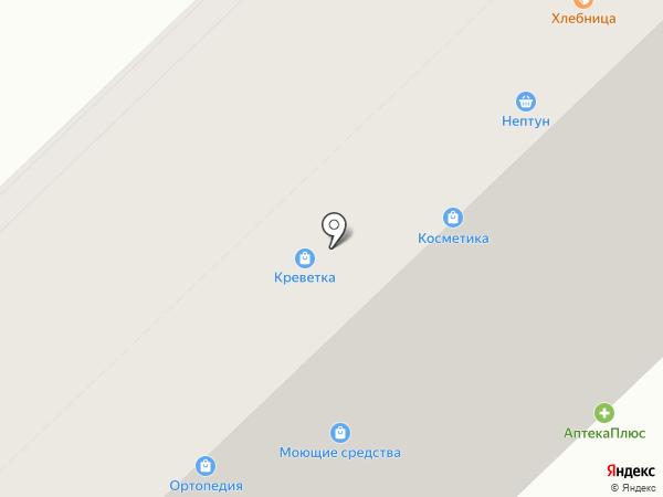 Хлебница на карте Волгограда