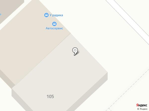 Автосервис на карте Волгограда