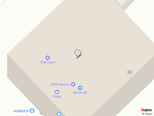 РАТ на карте Волгограда