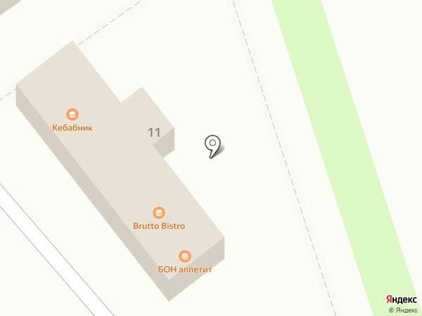 Пари-Матч на карте Волгограда