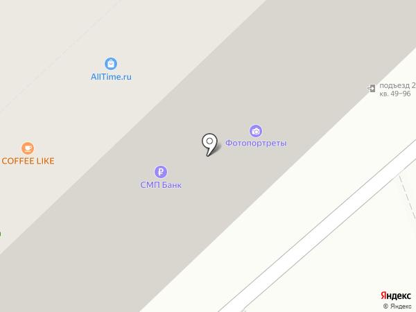 СМП Банк на карте Волгограда