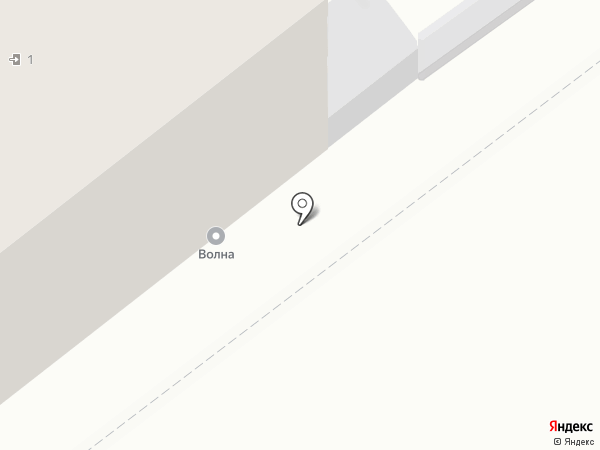 Волна на карте Волгограда