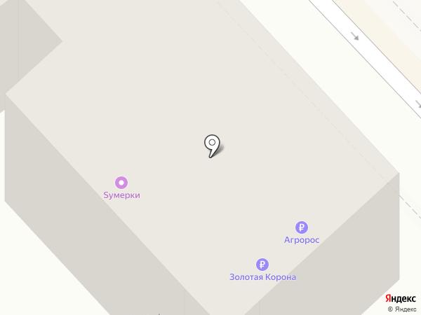 СКБ-банк на карте Волгограда