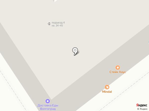 Межрегиональный финансовый центр на карте Волгограда