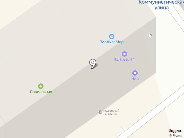Доброта.ru на карте Волгограда