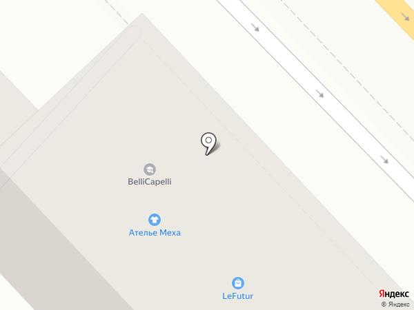 Ортлайн на карте Волгограда