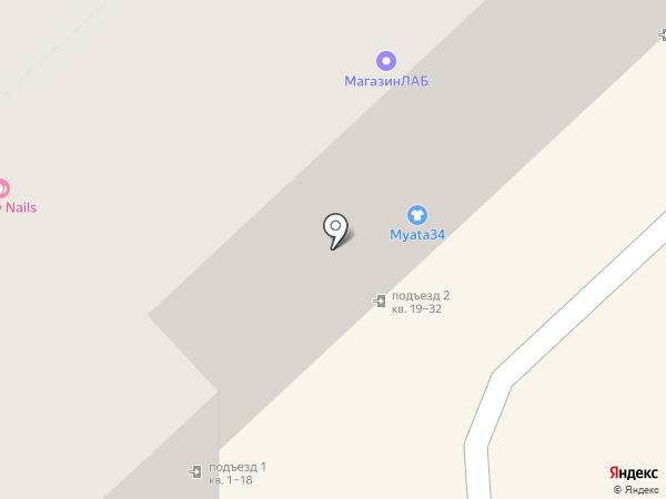 Brow Bar на карте Волгограда