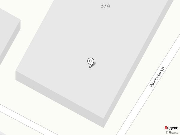 Гидротрест на карте Волгограда