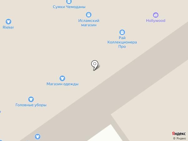 Кокетка на карте Волгограда