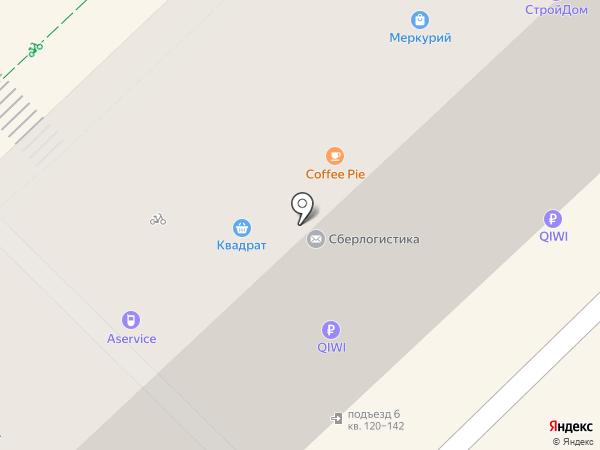 Связной на карте Волгограда