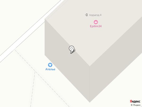 Меховое ателье на карте Волгограда