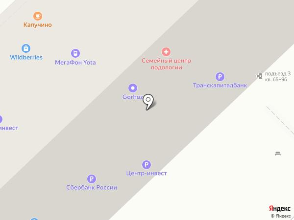 КБ Центр-инвест на карте Волгограда