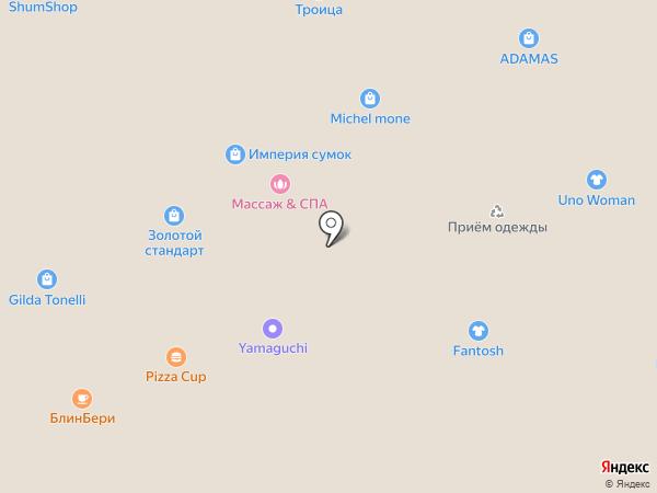 Банкомат, Промсвязьбанк на карте Волгограда