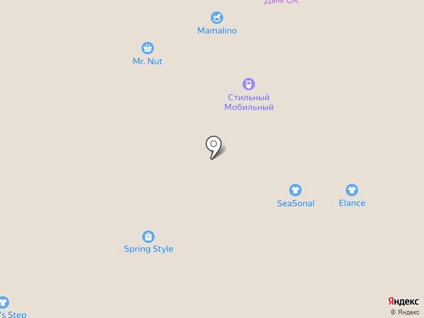 Магазин нижнего белья и колготок на карте Волгограда