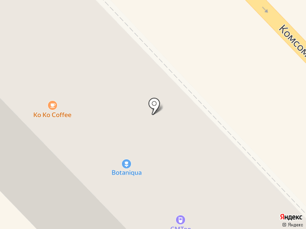 Botaniqua на карте Волгограда