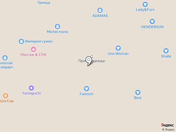 Menor на карте Волгограда