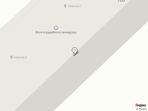 Гидромаш-Волга на карте Волгограда