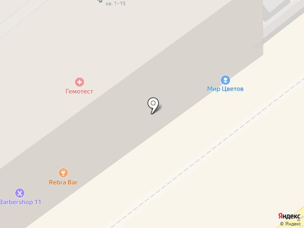 Прасковейский на карте Волгограда