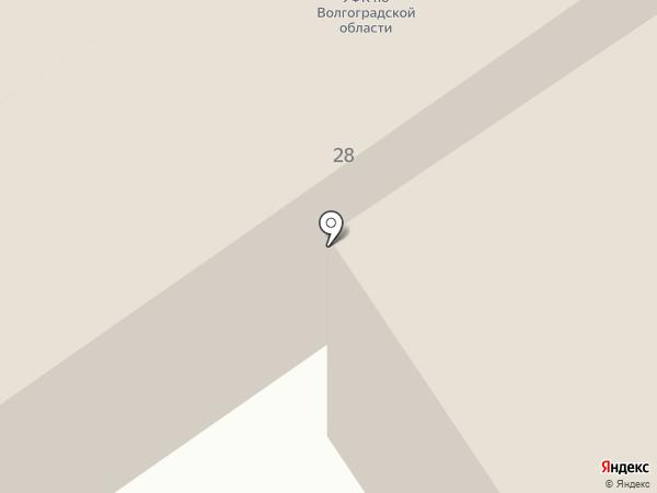 Милк на карте Волгограда