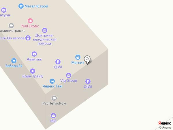 IBG на карте Волгограда