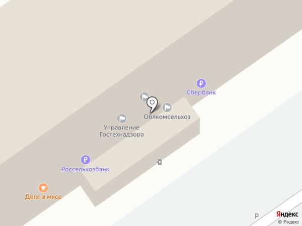 Агросвязьсервис на карте Волгограда