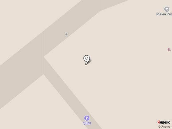 Джинсовая парковка на карте Волгограда