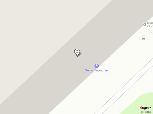 La Vista на карте Волгограда