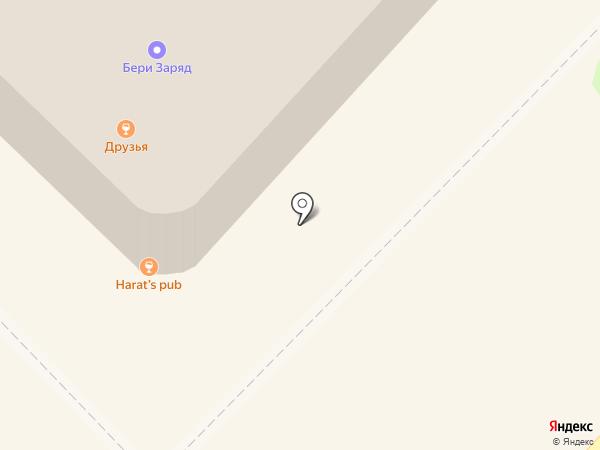 Друзья на карте Волгограда