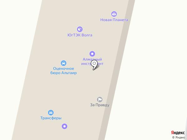Правоград на карте Волгограда