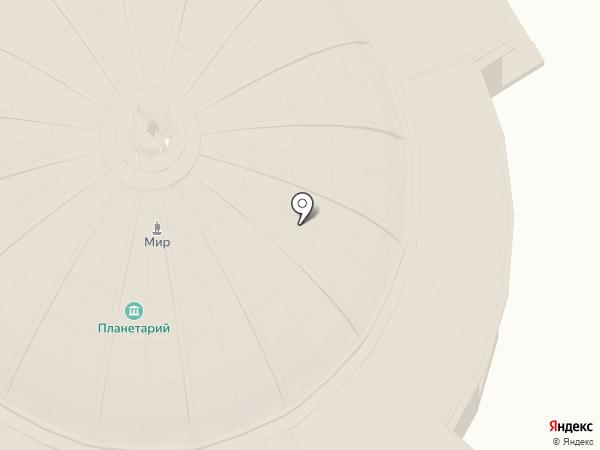 Волгоградский планетарий на карте Волгограда