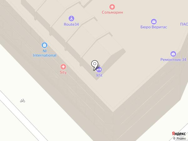 Анфиса+Яшенька+Акулина на карте Волгограда