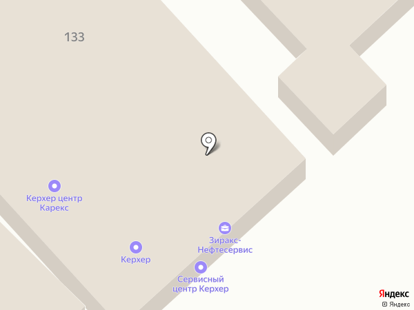 Ньюком Юг на карте Волгограда