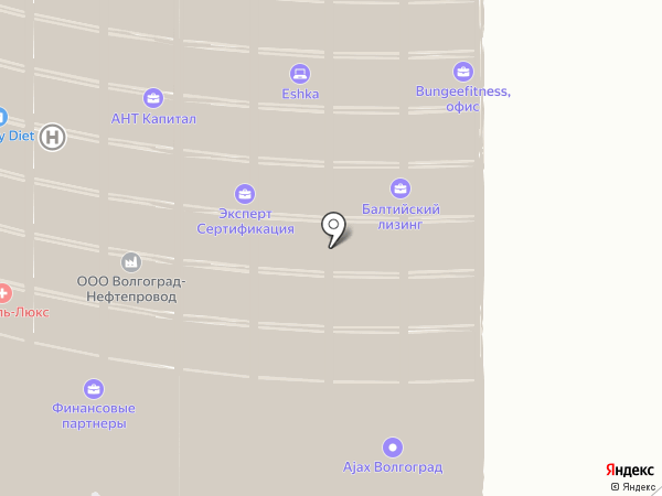 СКБ Контур на карте Волгограда