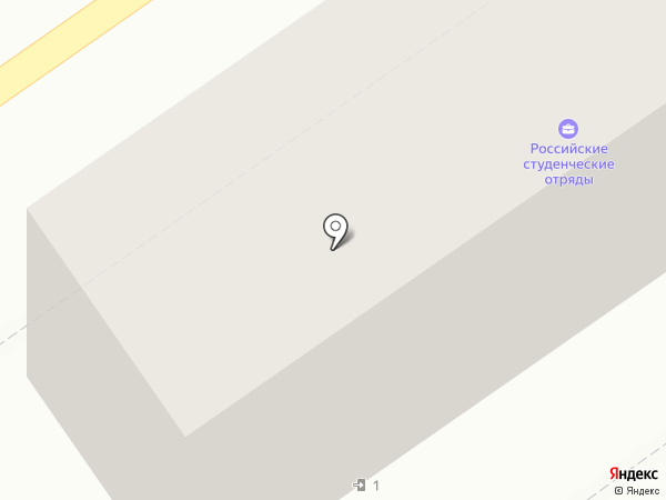 Хитэк-Юг на карте Волгограда