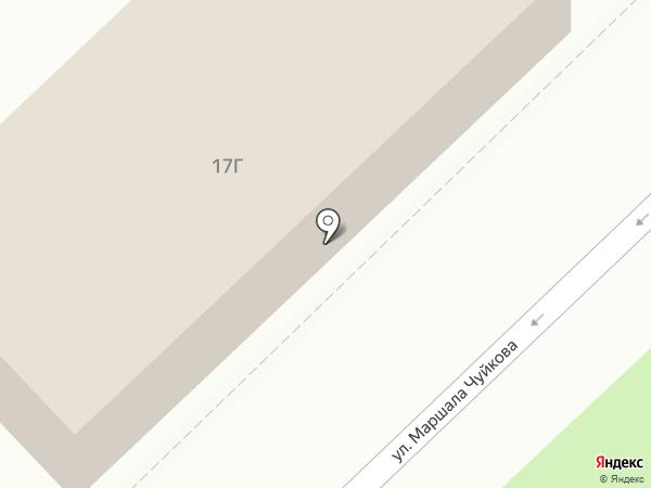 Гуляй Поле на карте Волгограда