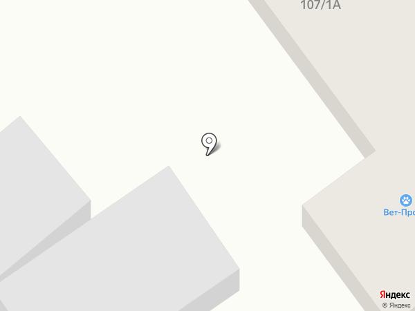 Магазин зоотоваров и товаров для сада на карте Волгограда
