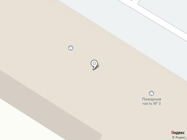 Пожарная часть №3 Центрального района на карте Волгограда
