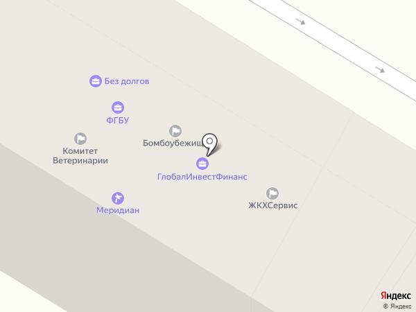 Pirouette на карте Волгограда
