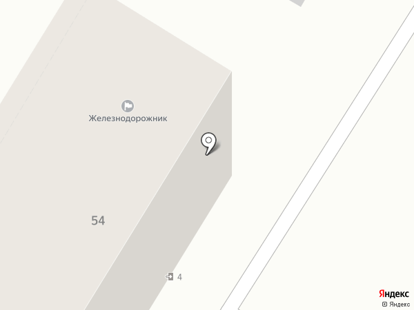 Железнодорожник, ТСЖ на карте Волгограда