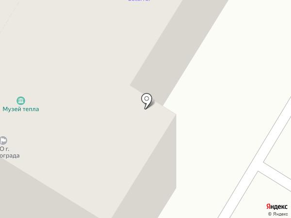 Веселый Цирюльник на карте Волгограда