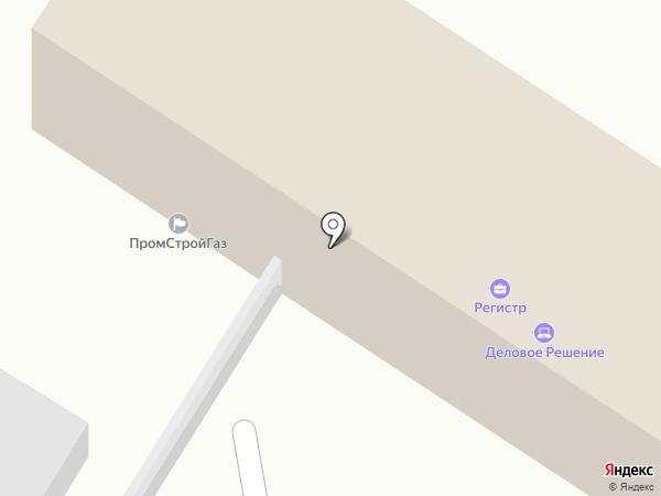 Стройресурс на карте Волгограда