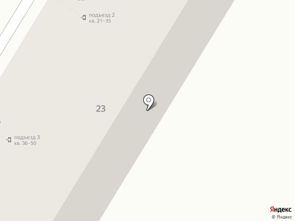 Калина на карте Волгограда