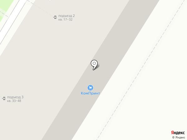 Меридиан на карте Волгограда