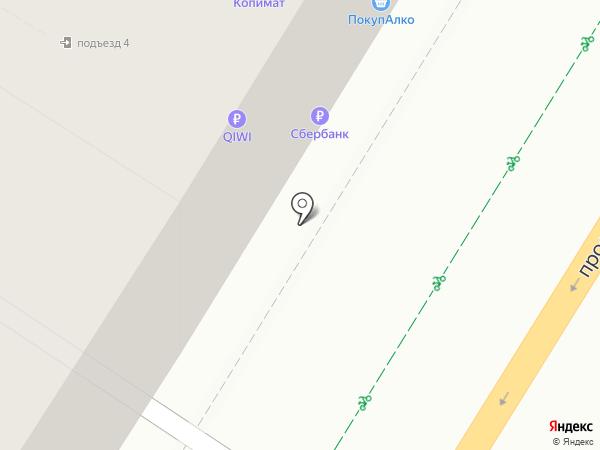 Танго на карте Волгограда
