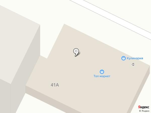 Топ-Маркет на карте Волгограда